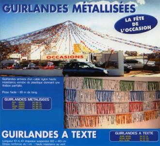 Guirlande pour concessionnaire - Devis sur Techni-Contact.com - 1