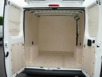 Habillage fourgon utilitaire Peugeot BOXER - Devis sur Techni-Contact.com - 1