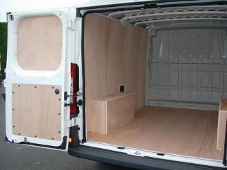 Habillage fourgon utilitaire Peugeot BOXER - Devis sur Techni-Contact.com - 2