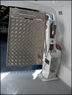 Hayon élévateur électrique pour camionnette - Devis sur Techni-Contact.com - 2