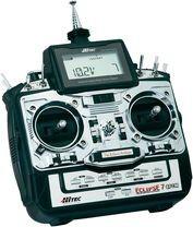 Hitec radiocommande Eclipse 7 FM QPCM - Devis sur Techni-Contact.com - 1