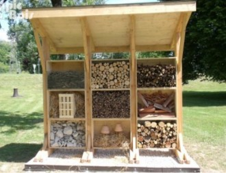 Hôtel à insectes en bois - Devis sur Techni-Contact.com - 1