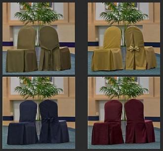 Housse pour chaise en tissu classique - Devis sur Techni-Contact.com - 2