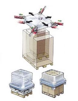 Housseuse automatique sous gaine étirable - Devis sur Techni-Contact.com - 2