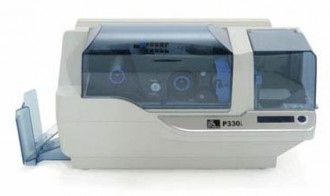 Imprimante pour badges une face avec chargeur à 100 cartes - Devis sur Techni-Contact.com - 1
