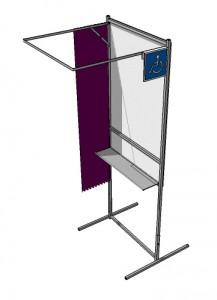 Isoloir de vote handicapé - Devis sur Techni-Contact.com - 2