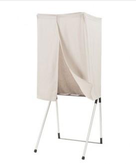 Isoloir de vote aluminium - Devis sur Techni-Contact.com - 1