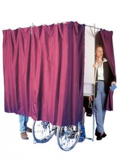 Isoloir électoral à 3 places - Devis sur Techni-Contact.com - 1