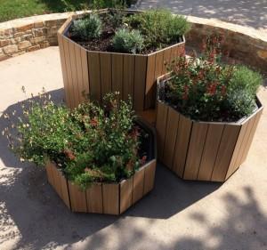 Jardinière avec effet lames - Devis sur Techni-Contact.com - 2
