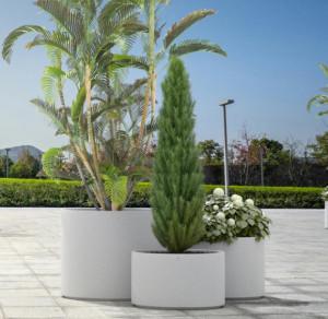 Jardinière béton cylindrique - Devis sur Techni-Contact.com - 1
