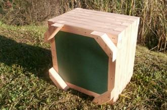 Jardinière d'extérieur carrée bois - Devis sur Techni-Contact.com - 3