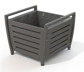 Jardinière en acier galvanisé - Devis sur Techni-Contact.com - 1