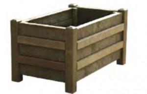 Jardinière rectangulaire plastique recyclé - Devis sur Techni-Contact.com - 2