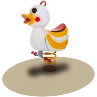 Jeu à bascule sur ressort canard pour enfants - Devis sur Techni-Contact.com - 1