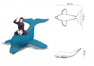 Jeu caoutchouc dauphin 3D pour aire de jeux - Devis sur Techni-Contact.com - 2