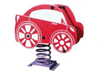 Jeu sur ressort voiture pour enfants 1 à 12 ans - Devis sur Techni-Contact.com - 1