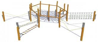 Jeux d'équilibre aire de jeux - Devis sur Techni-Contact.com - 4