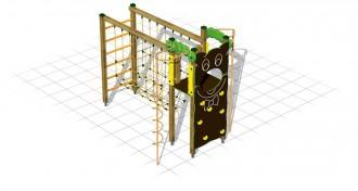 Jeux d'escalade avec filet à grimper - Devis sur Techni-Contact.com - 1