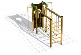 Jeux d'escalade avec filet à grimper - Devis sur Techni-Contact.com - 4