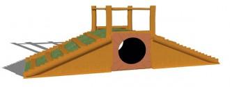 Jeux d'extérieur en acier et bois pour enfants - Devis sur Techni-Contact.com - 10