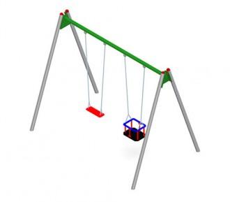 Jeux d'extérieur en acier et bois pour enfants - Devis sur Techni-Contact.com - 2