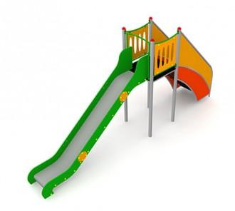 Jeux d'extérieur en acier et bois pour enfants - Devis sur Techni-Contact.com - 3