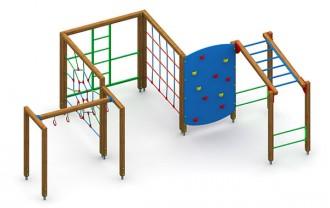 Jeux d'extérieur en acier et bois pour enfants - Devis sur Techni-Contact.com - 7