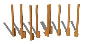 Jeux d'extérieur en acier et bois pour enfants - Devis sur Techni-Contact.com - 8