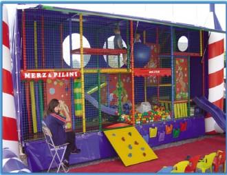 Jeux pour enfants avec poutres gonflable - Devis sur Techni-Contact.com - 2