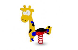 Jeux sur ressort girafe - Devis sur Techni-Contact.com - 1