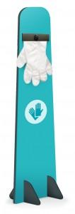 Kakemono distributeur de gel et de gants jetables - Devis sur Techni-Contact.com - 6