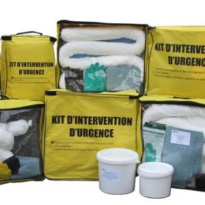 Kit absorbants hydrocarbures pour pollutions accidentelles - Interventions d'urgence - Devis sur Techni-Contact.com - 2