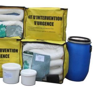 Kit absorbants hydrocarbures pour pollutions accidentelles - Interventions d'urgence - Devis sur Techni-Contact.com - 3