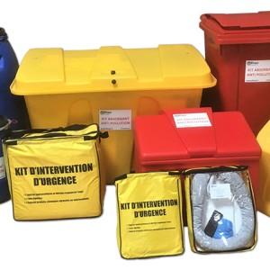 ABSORBANTS - Kit absorbant produits chimiques - Devis sur Techni-Contact.com - 5