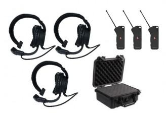 Kit communication mains libre sans fil - Devis sur Techni-Contact.com - 1