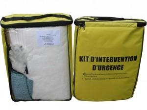 Kit d'intervention pour pollution d'hydrocarbures 14L - Devis sur Techni-Contact.com - 1