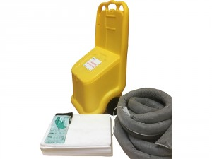 Kit d'intervention pour pollution d'hydrocarbures 250 L - Devis sur Techni-Contact.com - 1