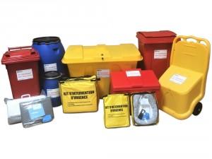 Kit d'intervention pour pollution d'hydrocarbures 250 L - Devis sur Techni-Contact.com - 2