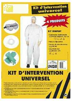Kit d'intervention universel pour protection individuelle - Devis sur Techni-Contact.com - 1