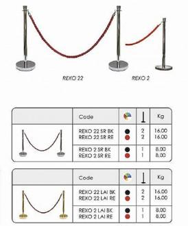Kit de poteau de guidage à corde - Devis sur Techni-Contact.com - 1