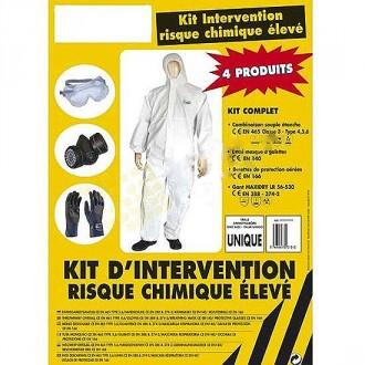 Kit individuel de protection chimique - Devis sur Techni-Contact.com - 1