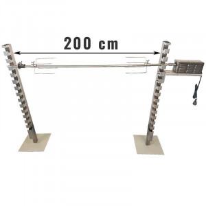 Tourne broche méchoui inox 90 Kg - Devis sur Techni-Contact.com - 5