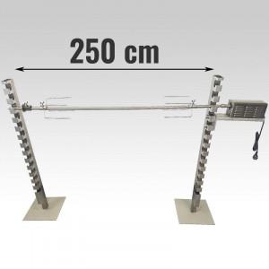 Tourne broche méchoui inox 90 Kg - Devis sur Techni-Contact.com - 6