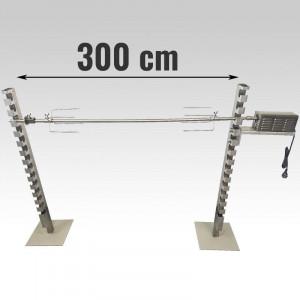 Tourne broche méchoui inox 90 Kg - Devis sur Techni-Contact.com - 7