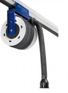 Kit rail d'extraction gaz avec enrouleur - Devis sur Techni-Contact.com - 2