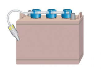 Kit remplissage pour batteries industrielles - Devis sur Techni-Contact.com - 1