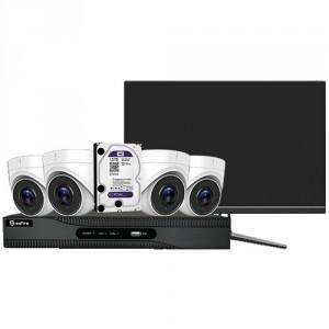 Kit vidéosurveillance 4 caméras - Devis sur Techni-Contact.com - 2