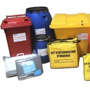 Kits d'intervention absorbant antipollution - Devis sur Techni-Contact.com - 5