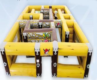 Labyrinthe pour enfant jeu gonflable d'extérieur - Devis sur Techni-Contact.com - 1