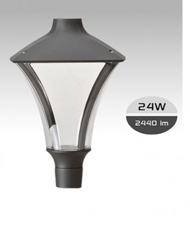 Lampadaire LED éclairage public 24 W - Devis sur Techni-Contact.com - 1